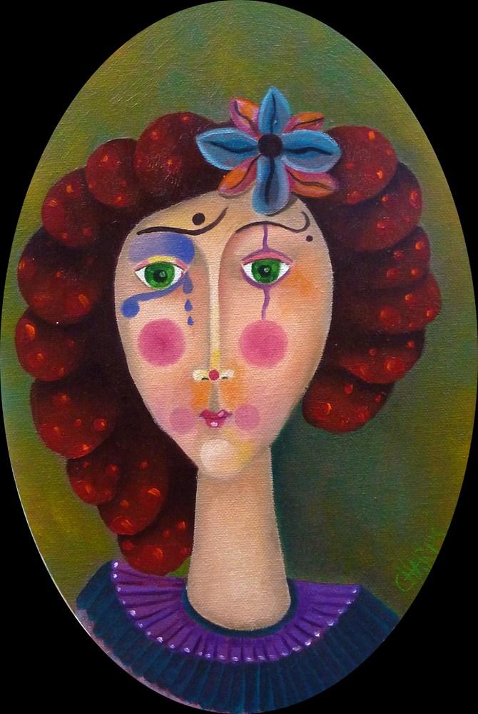 a fleur de clown - willy charps
