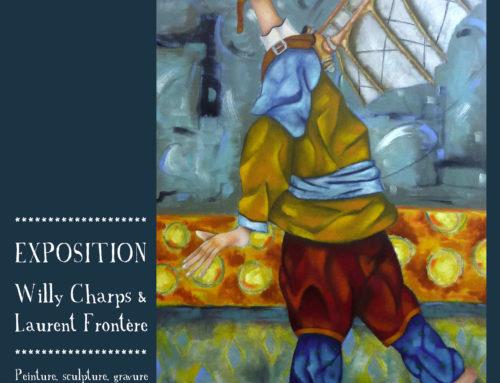 Exposition Willy Charps et Laurent Frontère du 3 au 15 Juillet Salies de Béarn