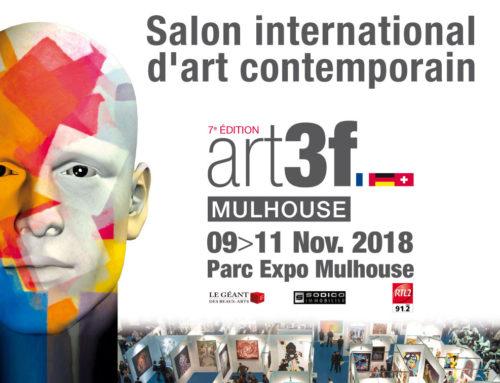 ART3F Mulhouse du 9 au 11 novembre sur le stand Toulouse Art